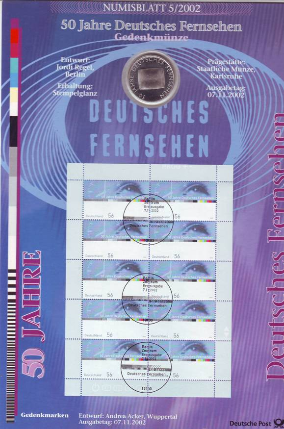 Numisblätter In Euro Kaufen Seba Berlin