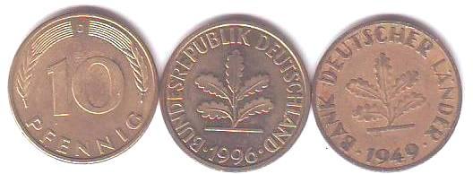 Bund 10 Pf Münzen Kaufen Seba Berlin