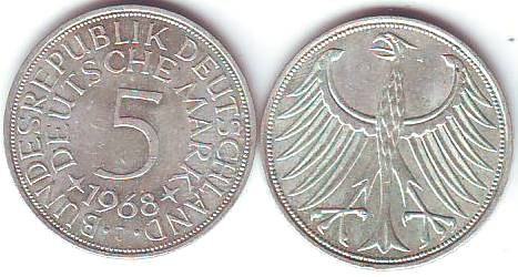 Bund 5 Dm Münzen Kaufen Seba Berlin