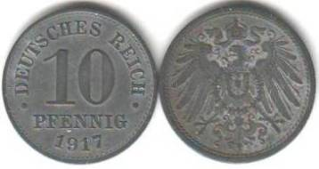 Umlaufmünzen Deutsches Reich 10 Pf Kaufen Seba Berlin