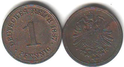 Umlaufmünzen Deutsches Reich 1 Pf Kaufen Seba Berlin
