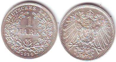 Umlaufmünzen Deutsches Reich 1 Mark Kaufen Seba Berlin