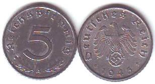 Umlaufmünzen Deutsches Reich 5 Pf Kaufen Seba Berlin