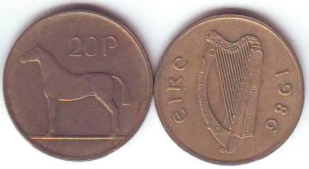 Irland Umlaufmünzen Kaufen Seba Berlin