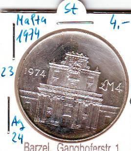 Münzen Von Malta Kaufen Seba Berlin